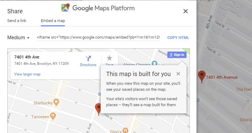 Google Maps API Keys